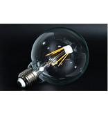 LED bulb light round 6W filament E27