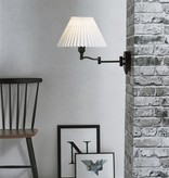 Wandlamp met arm en lampenkap E27
