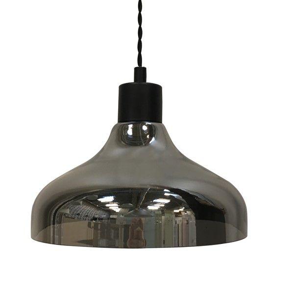 blown glass lighting. Blown Glass Light Pendant Transparent, Amber Or Smoked Lighting