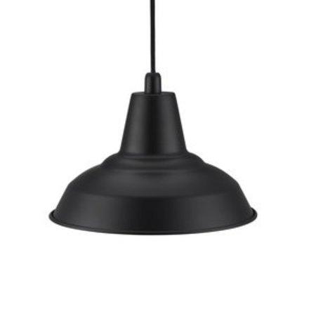 Retro pendant black or copper E27