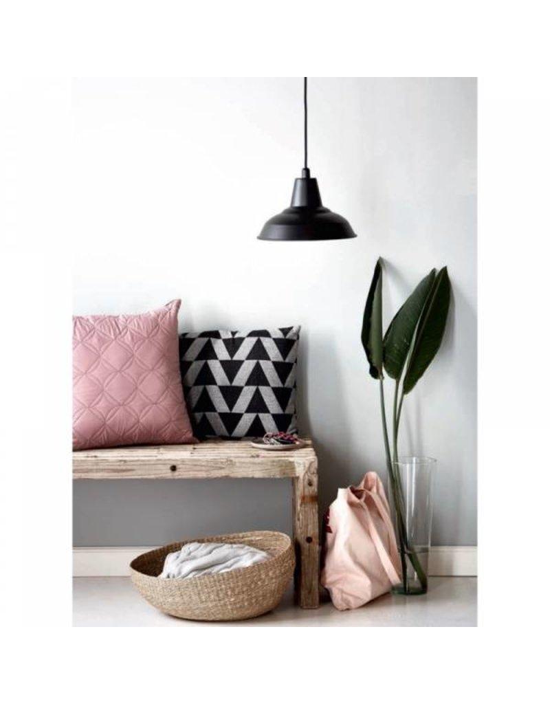 Retro hanglamp zwart of koper E27