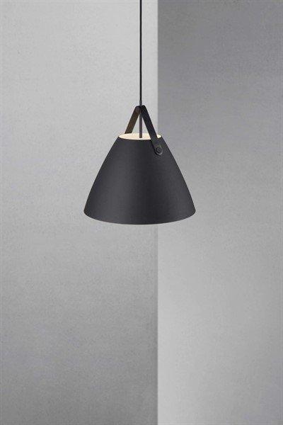 suspension luminaire scandinave blanc noir laiton gris 36cm - Luminaire Scandinave