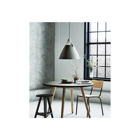 Scandinavische lamp wit, zwart, messing, grijs 36 cm Ø