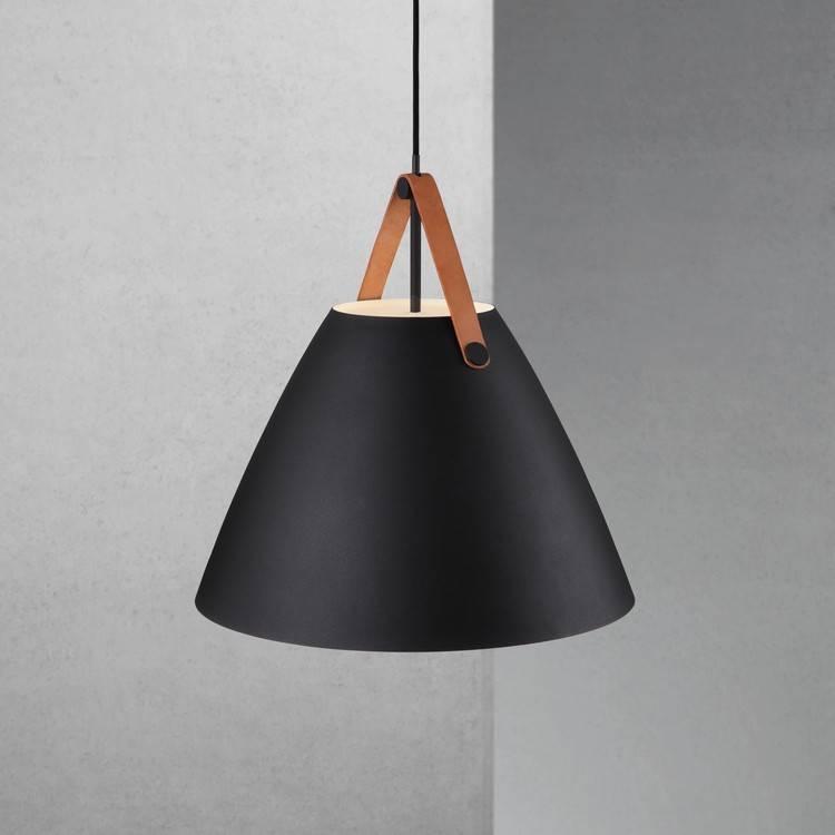scandinavian lighting. Scandinavian Lighting Pendant White, Black, Brass, Grey 48 Cm Ø N