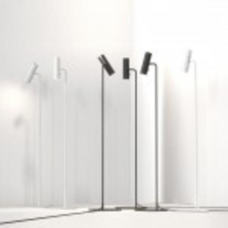 Staande lamp leeslamp GU10 wit of zwart