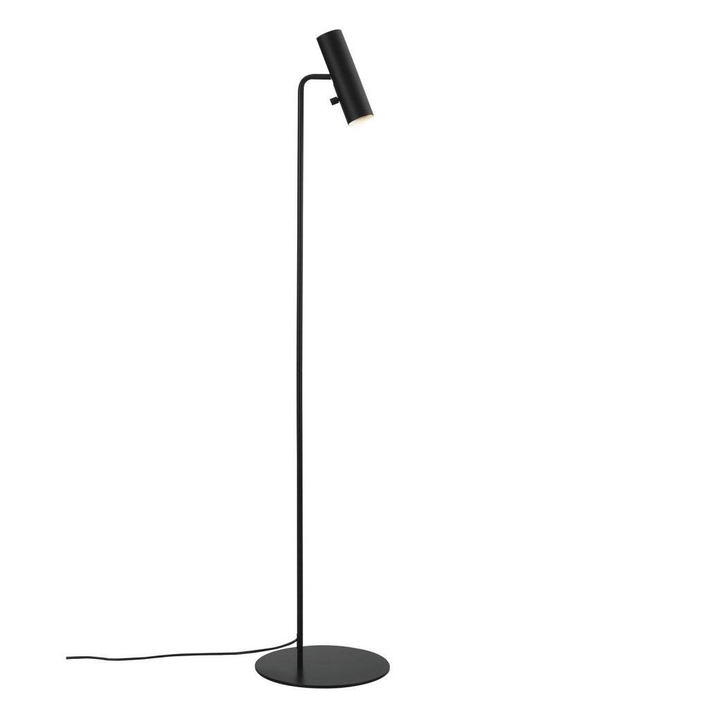 staande lamp leeslamp gu10 wit of zwart myplanetled. Black Bedroom Furniture Sets. Home Design Ideas