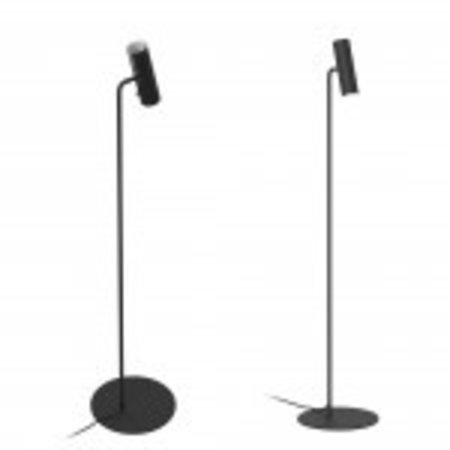 Reading floor lamp GU10 black or white