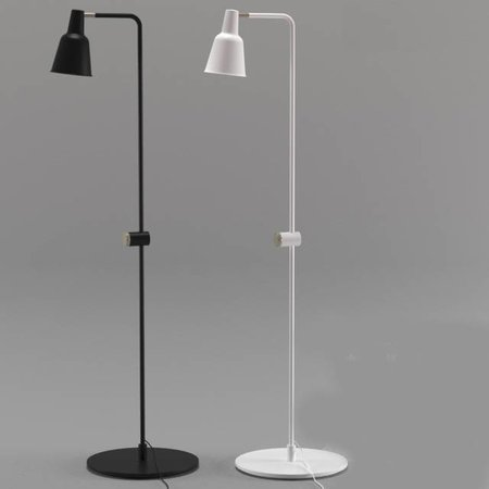 Dimmable floor lamp white or black E27