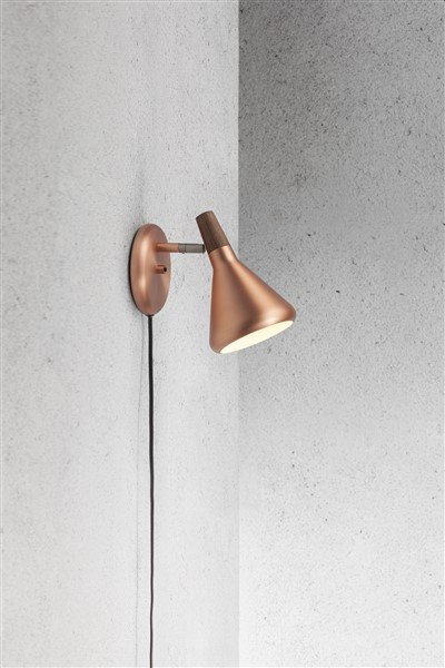 Scandinavian style lamp GU10 copper or grey