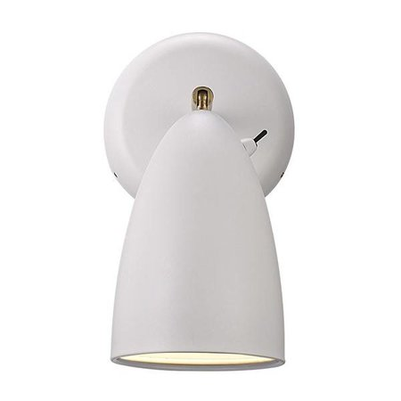 Nordic wall light LED 3W white, black, grey, chrome