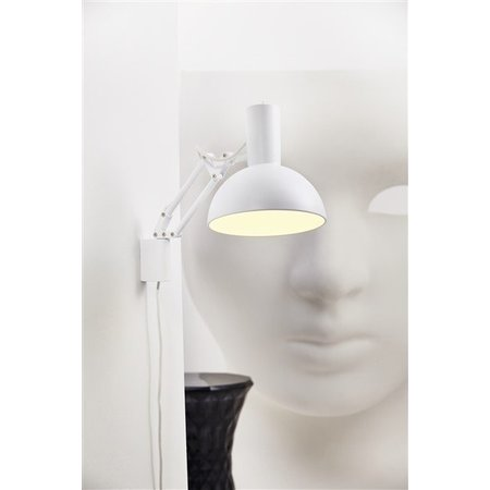 Architect table lamp white or black E27