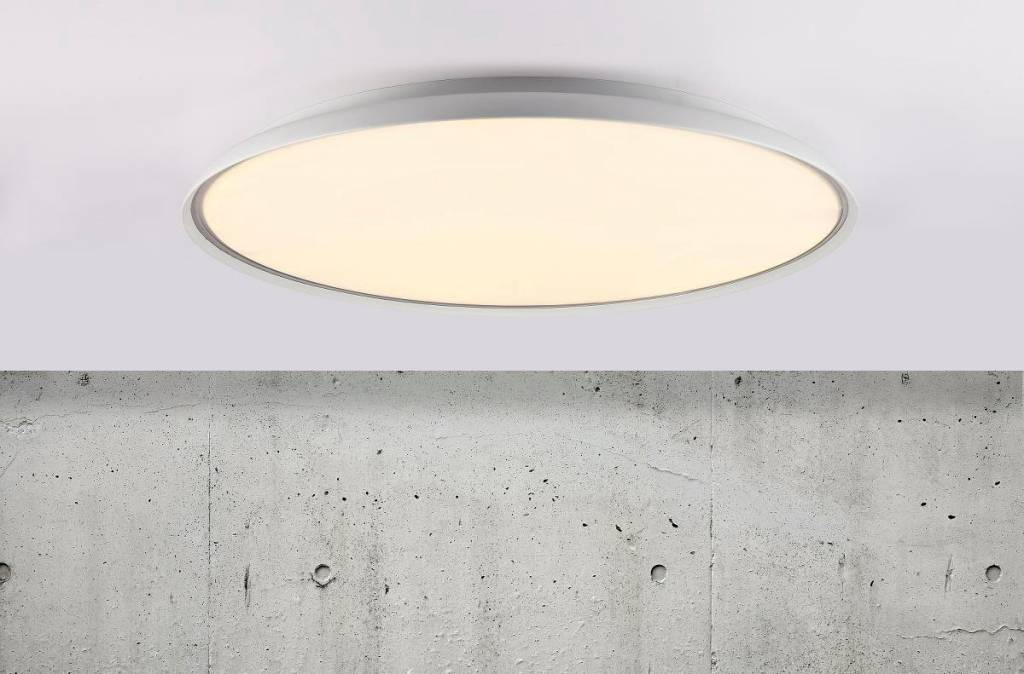 Platte plafondlamp led rond cm Ø of cm Ø myplanetled