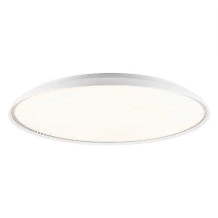 Platte plafondlamp LED rond 41 cm Ø of 60 cm Ø
