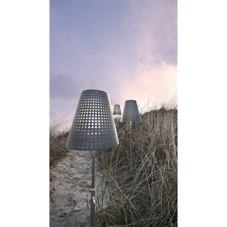 Terraslamp gegalvaniseerd 129-165 cm E27 IP44