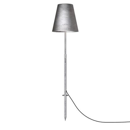 Terrace lamp galvanized 129-165 cm E27 IP44