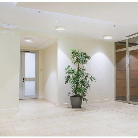 dalle led plafond ronde apparente 24w 300mm diam tre myplanetled. Black Bedroom Furniture Sets. Home Design Ideas