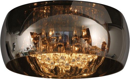 Kristallen Plafonniere : Kristallen plafonniere glas cm Ø of myplanetled
