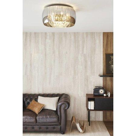 Unusual ceiling light crystal glass 40cm Ø or 50cm Ø