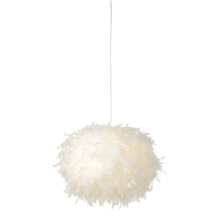 White feather lamp 50cm ∅