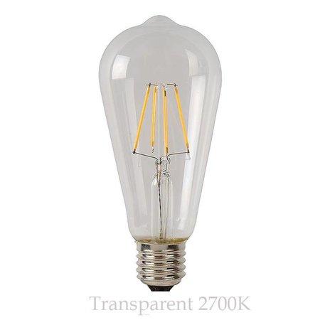 Ampoule sphérique LED 5W ambre ou transparent