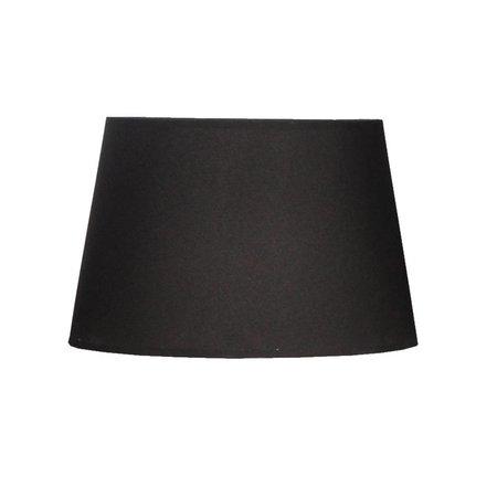 Abat-jour noir tissu rond 300mm large pour ARM-272-273-286-287
