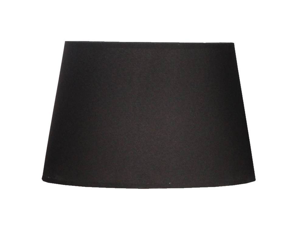 Lamp shade fabric black round 300mm wide for ARM-272-273-286-287