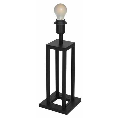Lampe de chevet noir E27