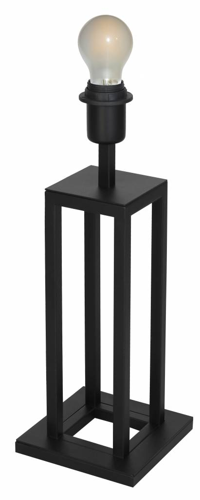 Buffet table lamp black E27