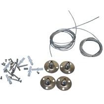 Câbles de suspension pour panneaux LED