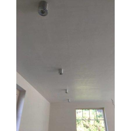 Ceiling light GU10 black, grey or white round GU10 90mm