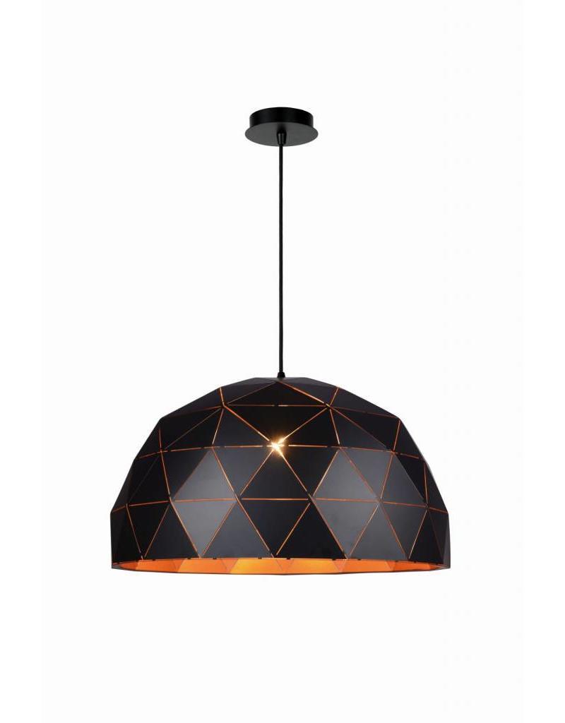 Zwarte lamp met gouden binnenkant of wit 60cm Ø