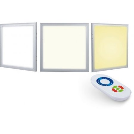 Dalle LED dimmable CCT couleur variable 36W