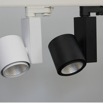 LED track light 20W Ra>90 black or white