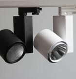 LED track light 20W Ra>90 black or white