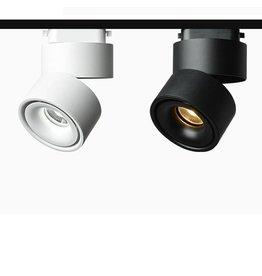 LED railverlichting wit of zwart 20W