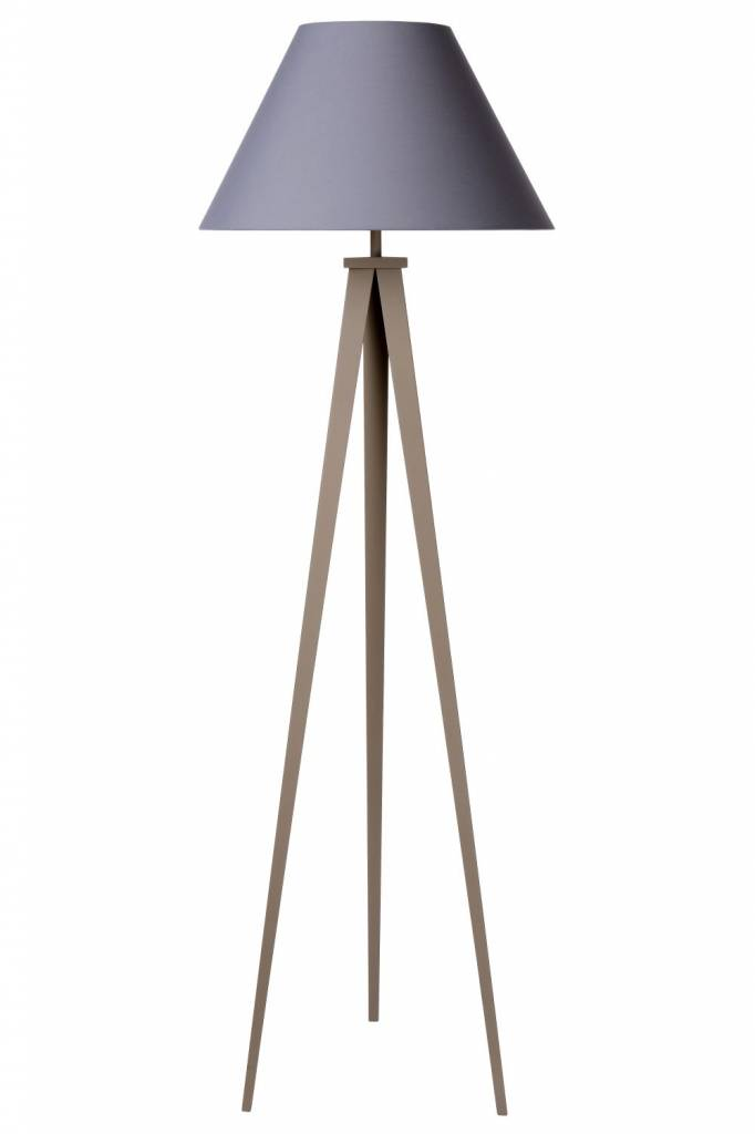 Tripod floor lamp shade black grey white myplanetled 3 leg floor lamp shade black grey white mozeypictures Image collections