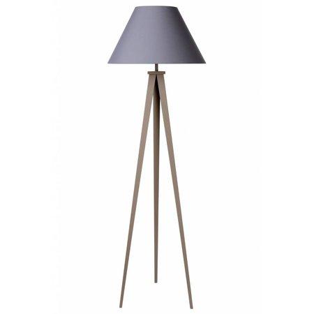 3 leg floor lamp shade black, grey