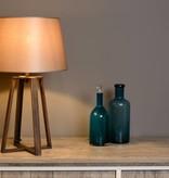 Lampe de table design abat-jour tissu E27 63cm H