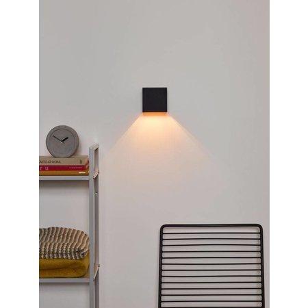 Applique murale angle réglable noir doré, gris, blanc LED