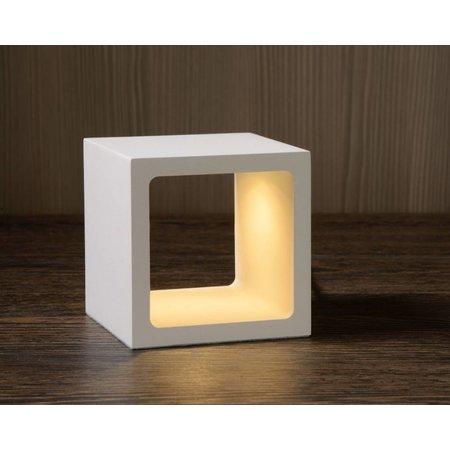 lampe de chevet moderne variateur blanc noir dor led 6w myplanetled. Black Bedroom Furniture Sets. Home Design Ideas