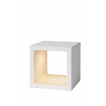Square table lamp dimmer white or black gold LED 6W