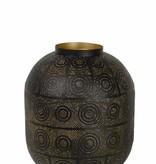 Lampe de chevet orientale 25cm ou 39cm Ø E27