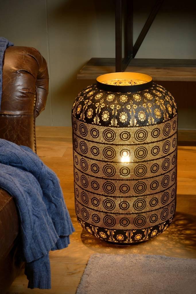 lampe de chevet orientale 25cm ou 39cm e27 myplanetled. Black Bedroom Furniture Sets. Home Design Ideas