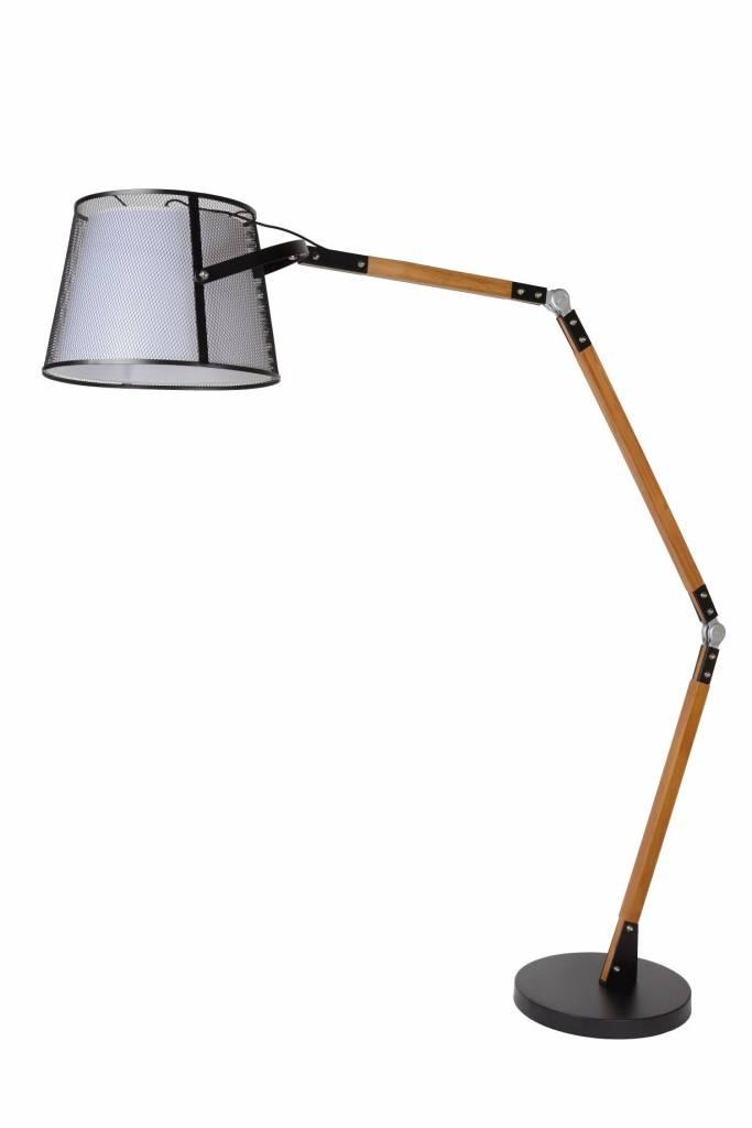 lampe d port e vintage bois abat e27 myplanetled. Black Bedroom Furniture Sets. Home Design Ideas