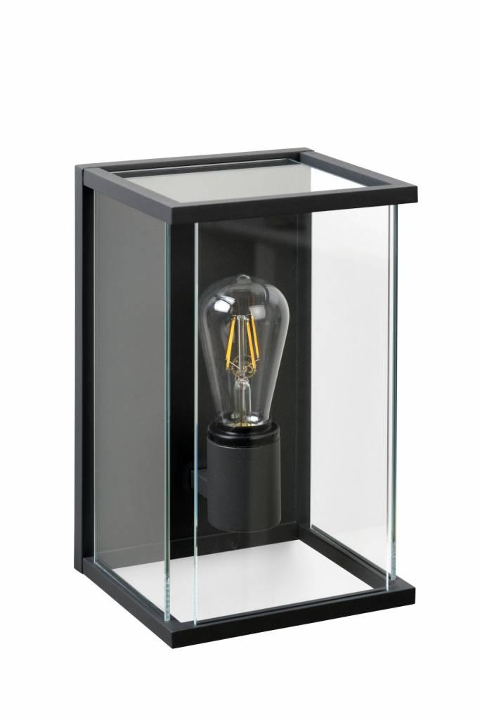 Outdoor garden wall light glass E27