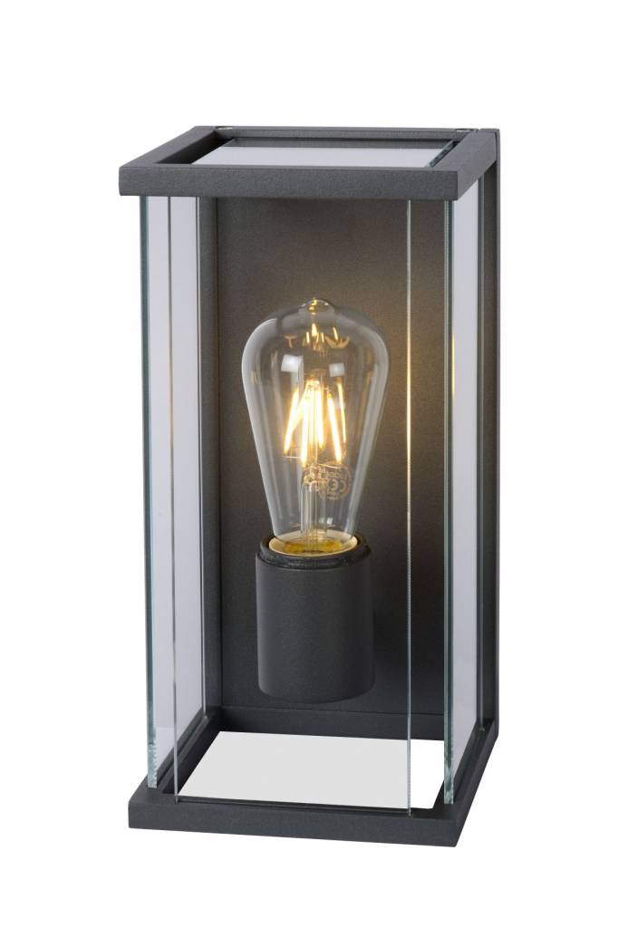 Clear Glass Wall Sconce E27 Myplanetled