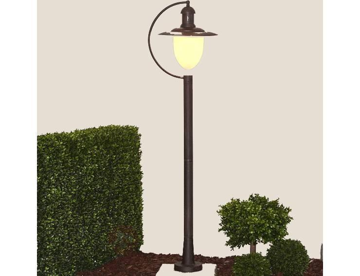 lampe exterieur sur pied simple luminaire extrieur pour poteau ou podium with lampe exterieur. Black Bedroom Furniture Sets. Home Design Ideas