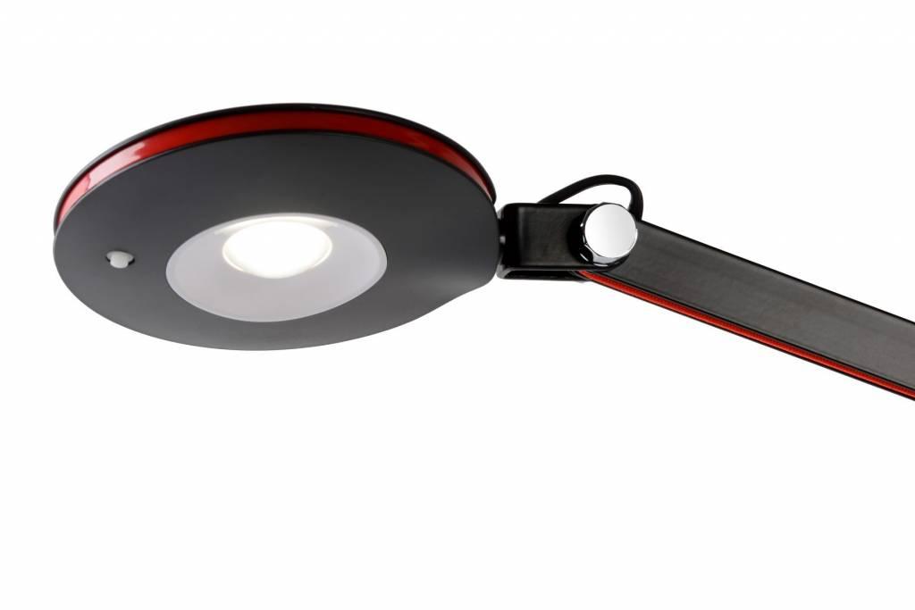 Lampe de bureau led blanche ou noire flexible w myplanetled