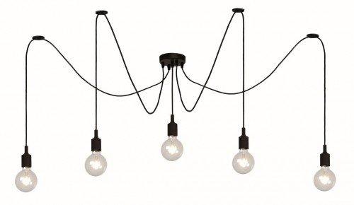 Hanglamp spin 5 of 10 draden E27