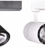 Modern track lighting 40W white or black